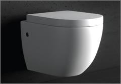 """Hochwertiges Mineralguss WC-Becken """"Uni"""""""