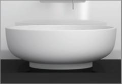 Hochwertige Mineralguss Waschbecken
