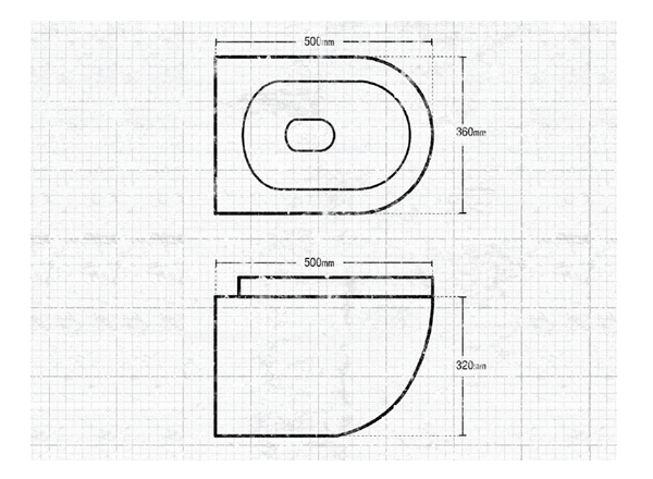 keramik wc becken wc becken modern design. Black Bedroom Furniture Sets. Home Design Ideas
