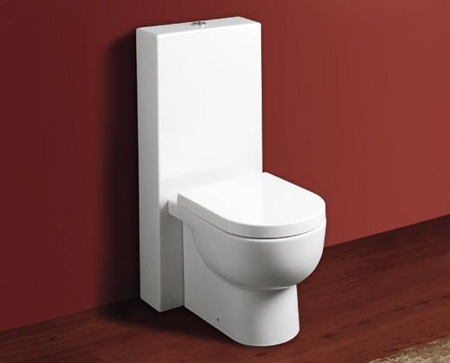 design keramik wc becken mit sp lkasten bari classic stone. Black Bedroom Furniture Sets. Home Design Ideas
