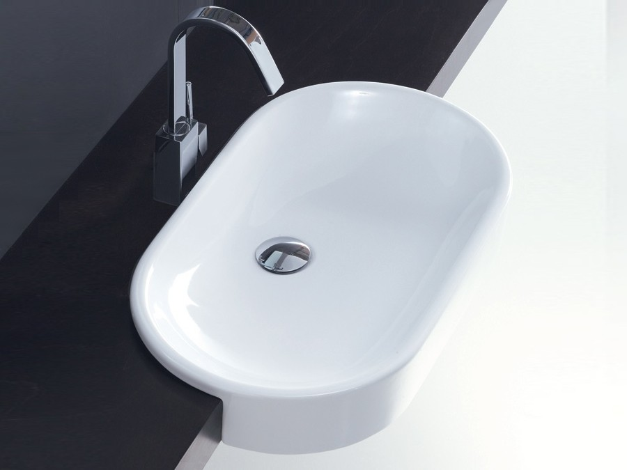 halb einbauwaschbecken waschbecken modern design. Black Bedroom Furniture Sets. Home Design Ideas