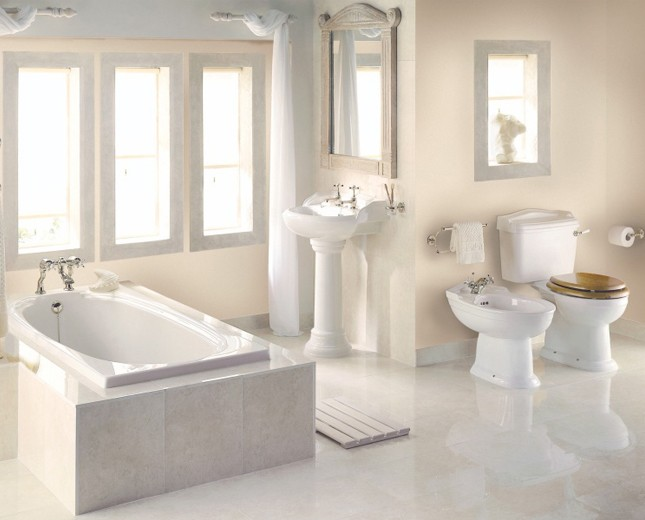 nostalgie bidet becken nouveau classic stone. Black Bedroom Furniture Sets. Home Design Ideas