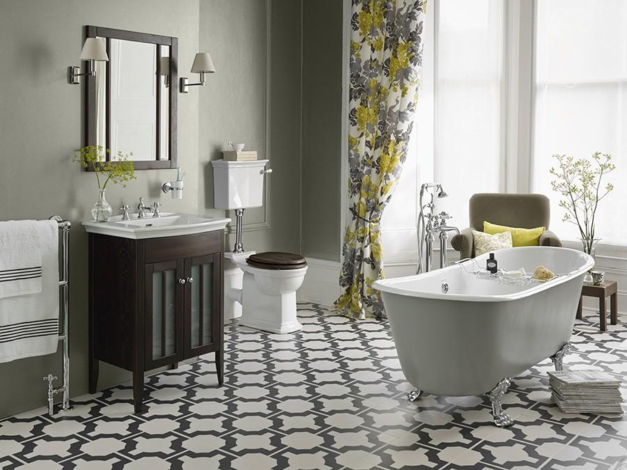 WC, WC Becken, nostalgie, design, traditionelle ...