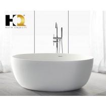 Freistehende Design Badewanne aus Mineralguss Montreal